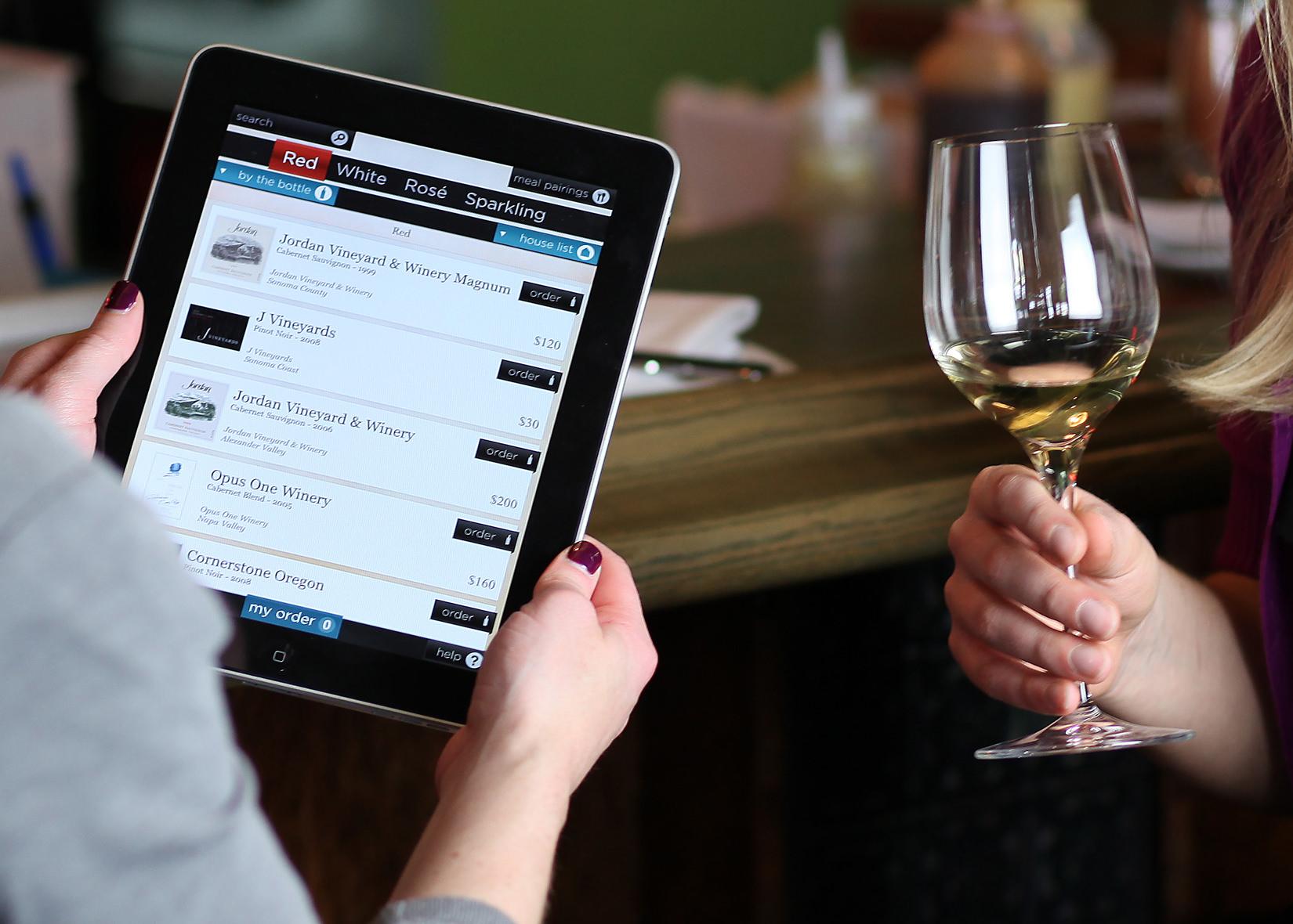 ¿Qué es una carta de vinos digital?